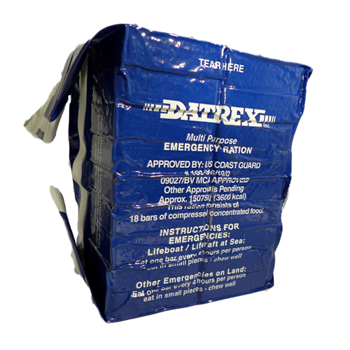 Datrex 3600 Calorie Survival Food Ration