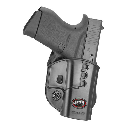 Fobus GL43 Evolution Series - Fits Glock 43