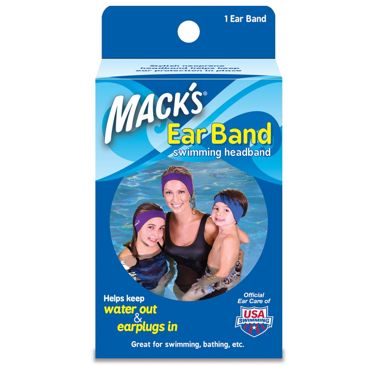 Macks Ear Band - Swimming Headband