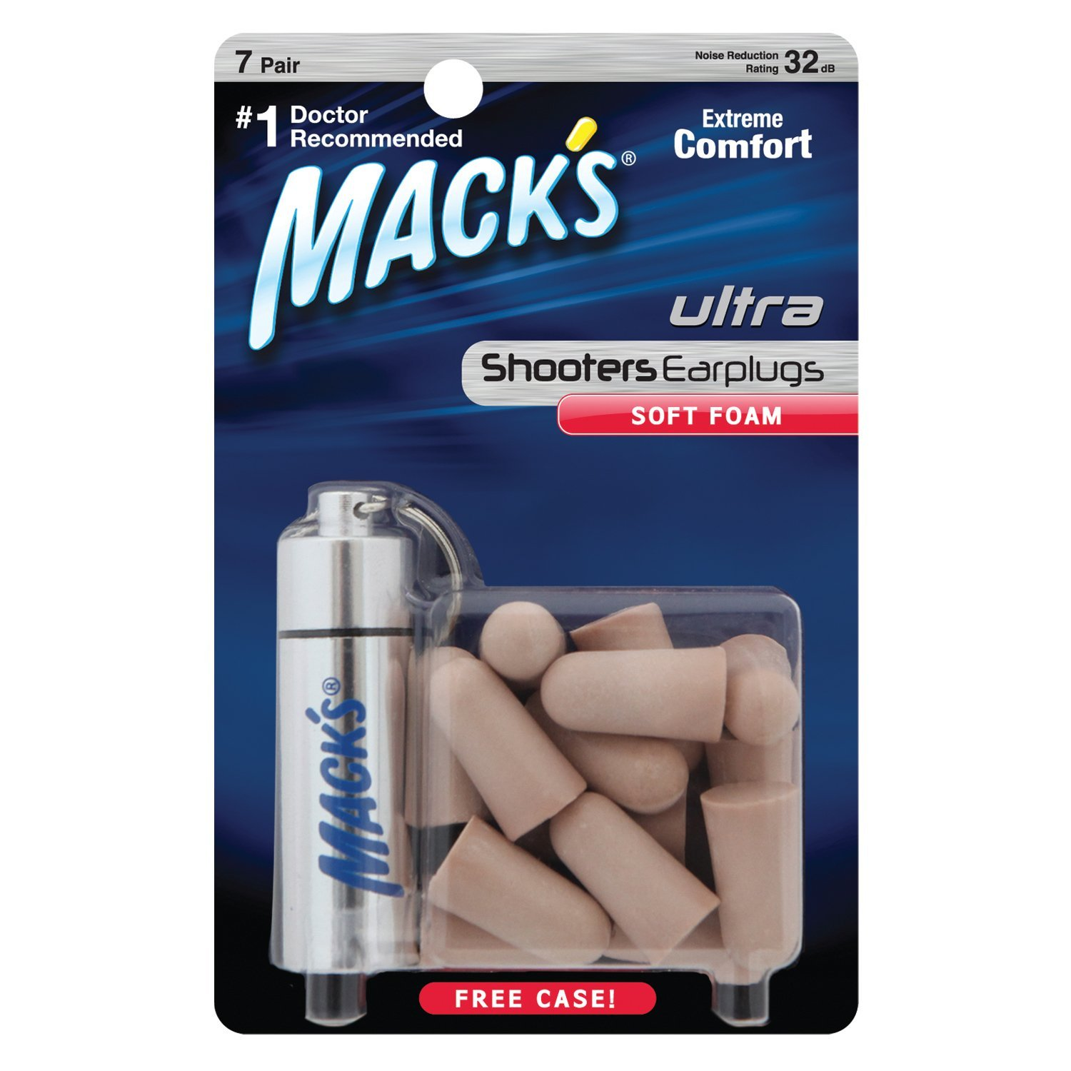 Macks Shooters Ultra Foam Ear Protection