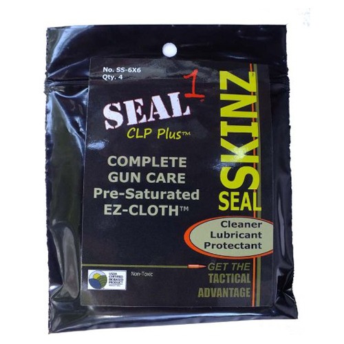 "SEALSkinz Pre-Saturated Cleaning Cloths 6""x6"""