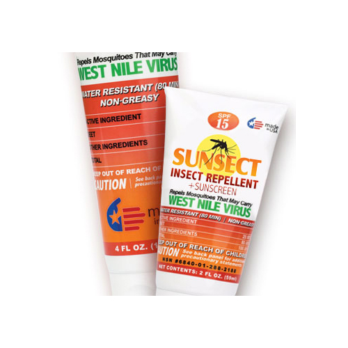 Sunsect Insect Repellent & Sunscreen Tube Pack