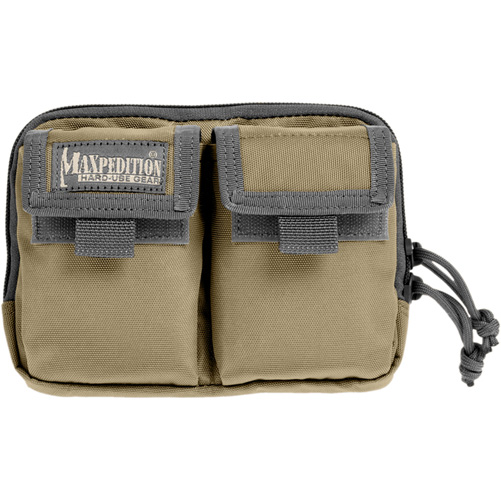 Maxpedition- Hook-&-Loop Double Pocket Insert