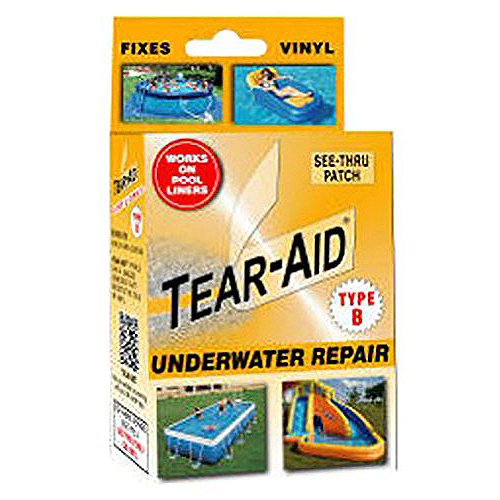 Tear Aid Underwater Vinyl Repair Type B Kit