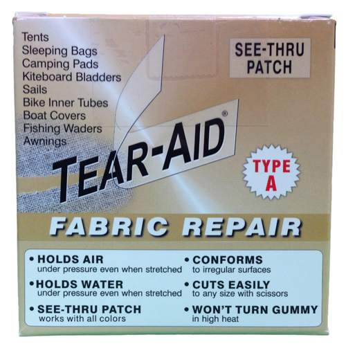 Tear Aid Fabric Repair Type A Patch - Roll