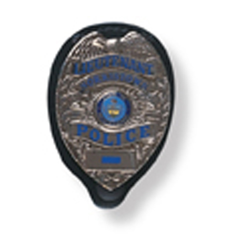 Gould & Goodrich B576 Clip-On Badge Holder Oval
