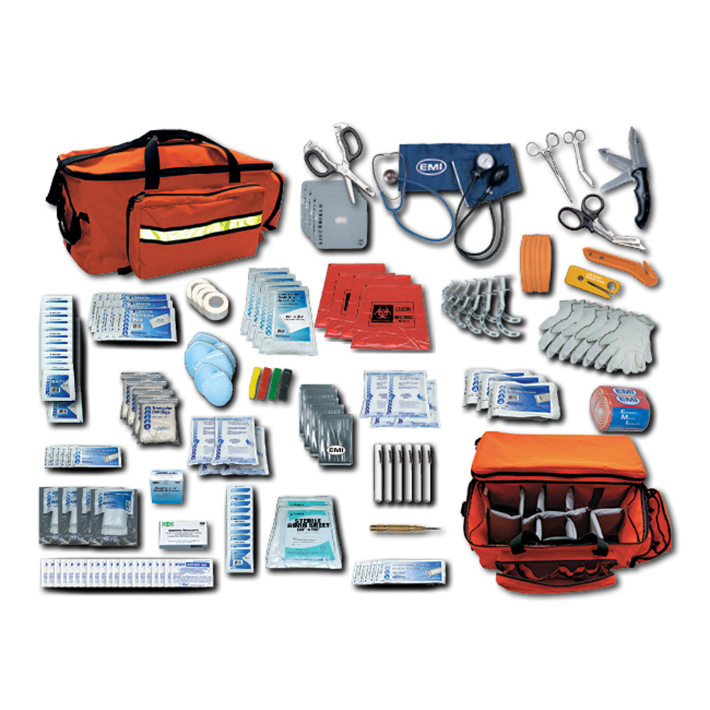 EMI-Response, Disaster, EMT, EMS Emergency Kits