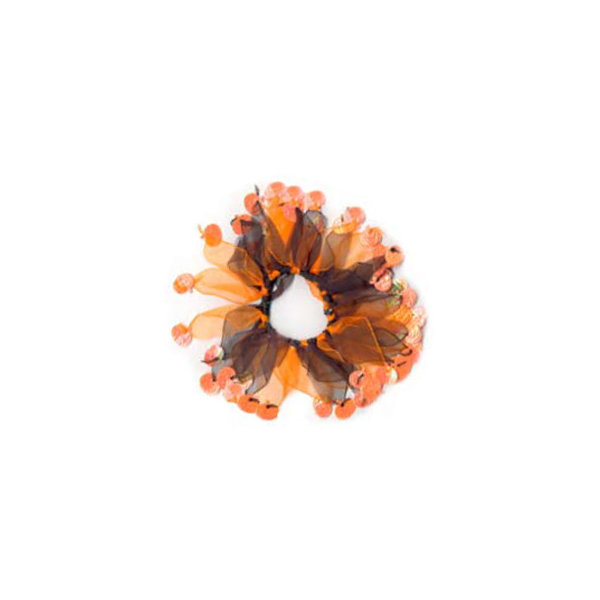 Charming Pet Party Collar Halloween Pumpkin