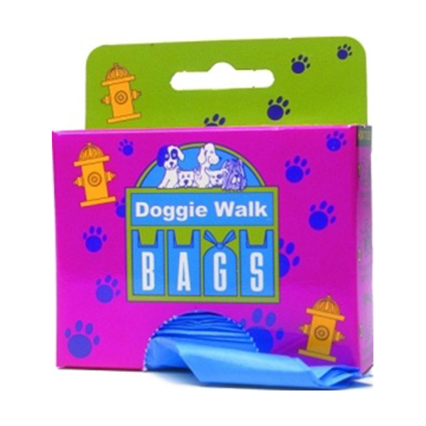 Doggie Walk Bags- Classic Box Baby Powder Scent