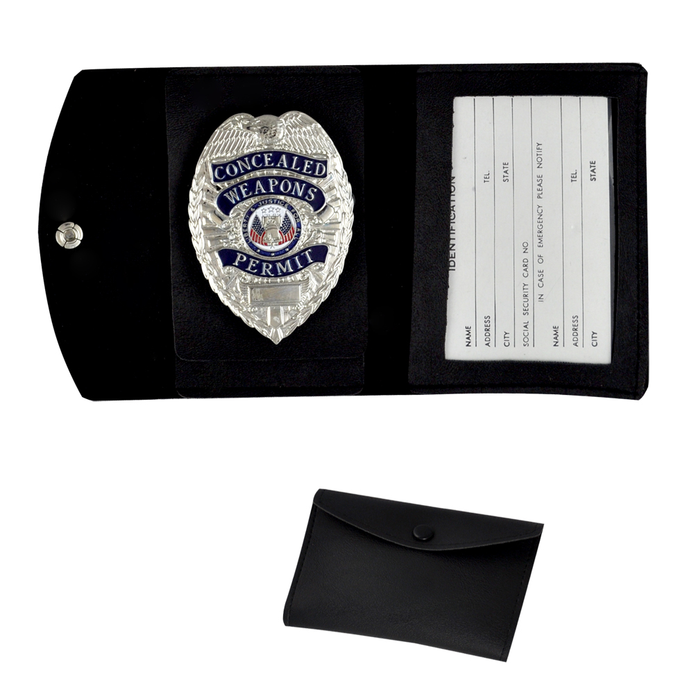 FURY® Tactical Badge ID Case Only