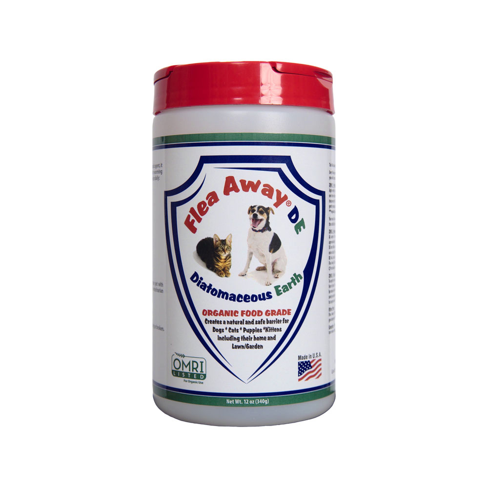 Flea Away Diatomaceous Earth 12 oz