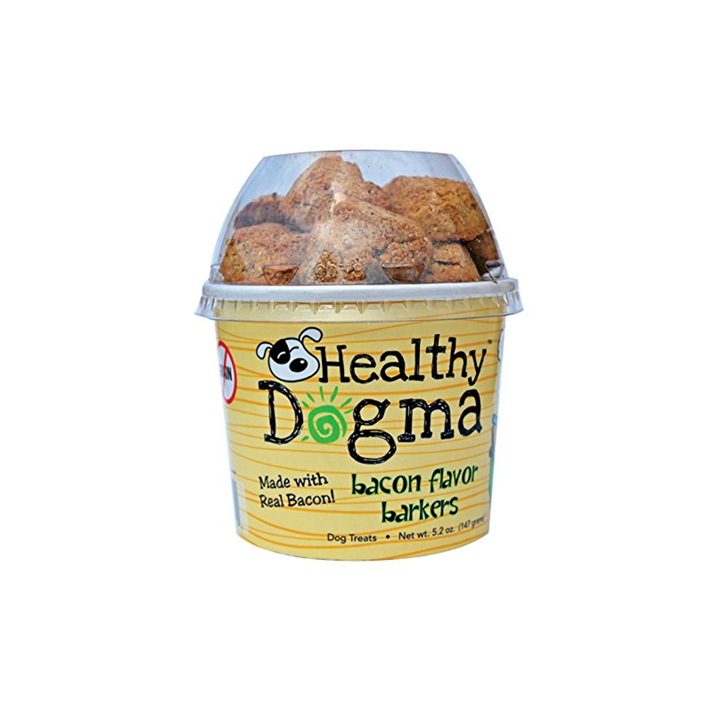 Healthy Dogma Bacon Barkers 8 oz.