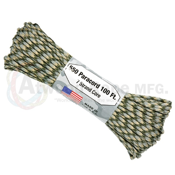 Atwood Rope Paracord - Camo Patterns