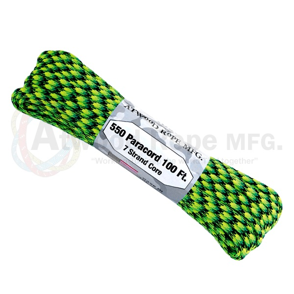 Atwood Rope Paracord - Combination Colors