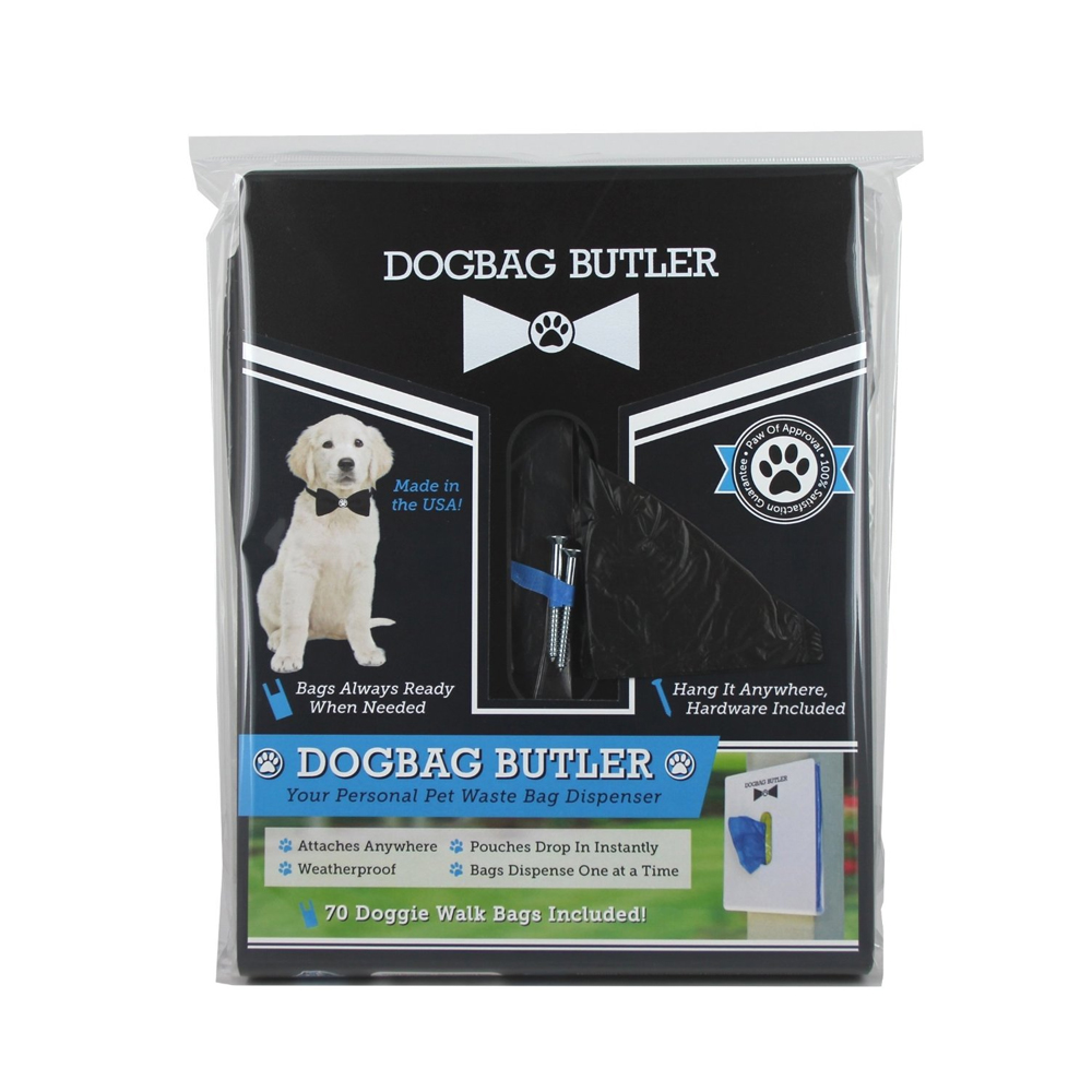 Doggie Walk Bags- Butler, Waste Bag Dispenser