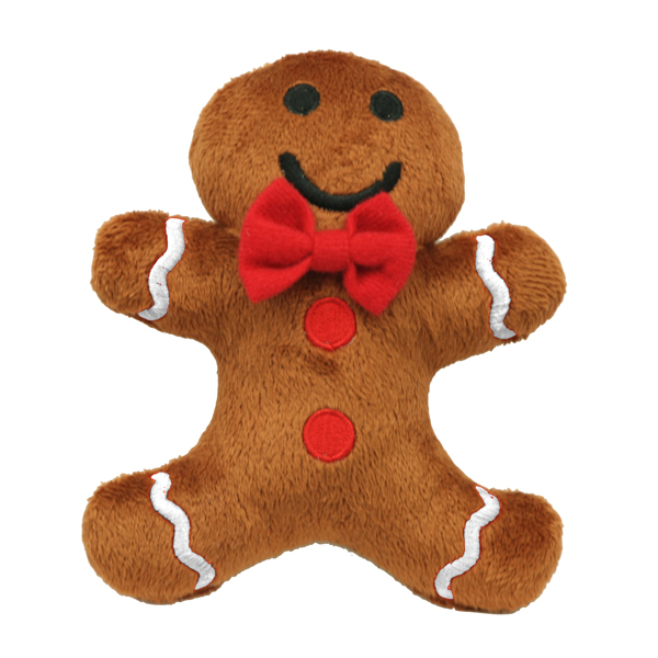 Hip Doggie Gingerbread Toy 6 in.