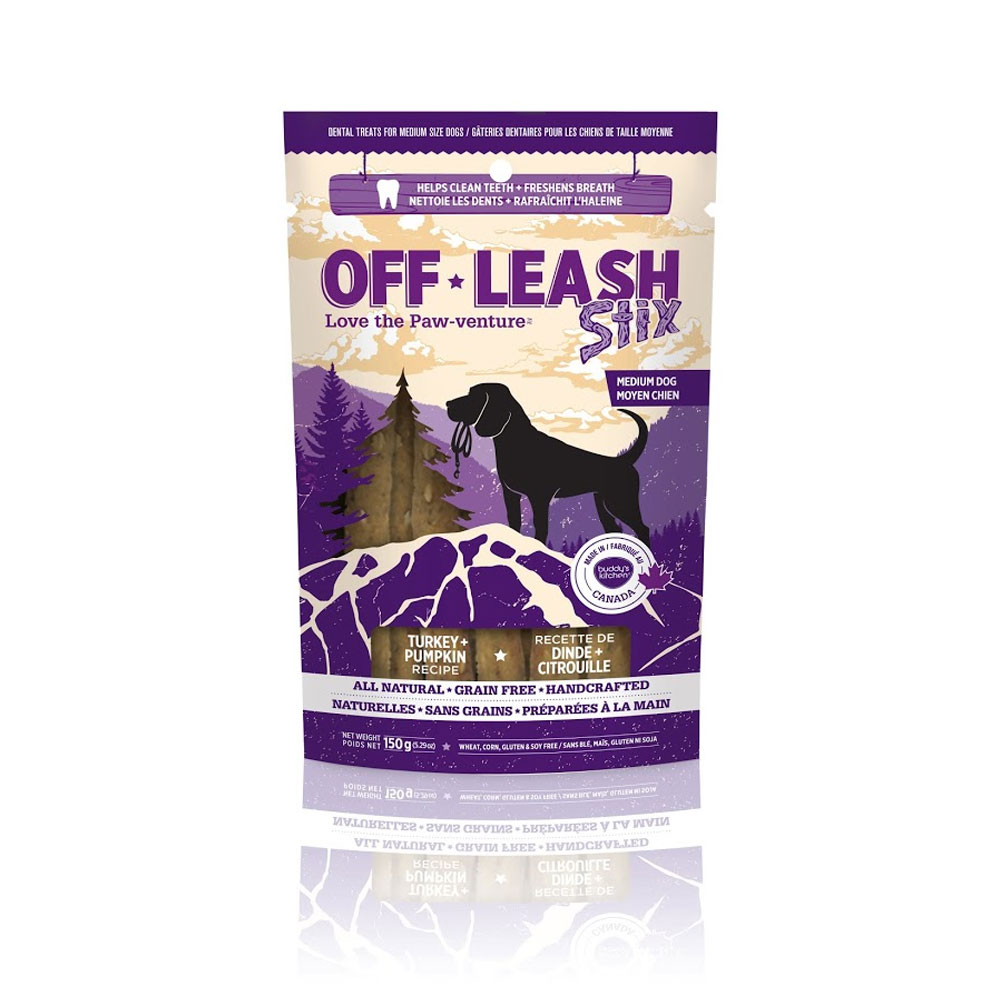 Off-Leash Stix - Turkey & Pumpkin 5.29 oz