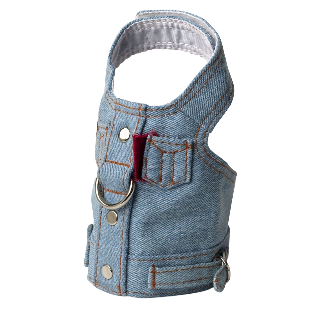 Doggles Harness Blue Jean Vest