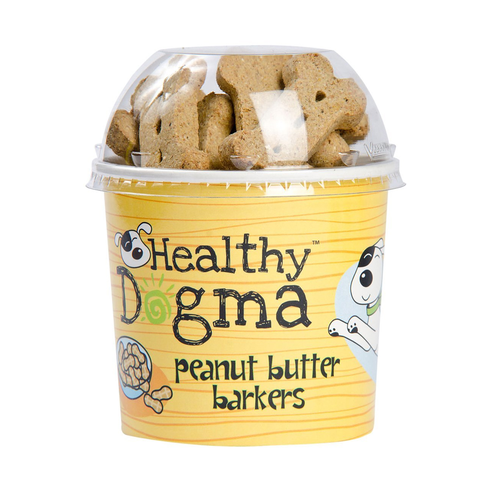 Healthy Dogma Peanut Butter Treats 8 oz.