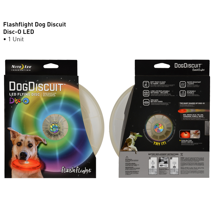 Nite Ize- Dog Discuit- LED Flying Disc