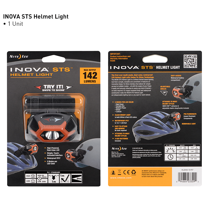 Nite Ize - STS Helmet Light