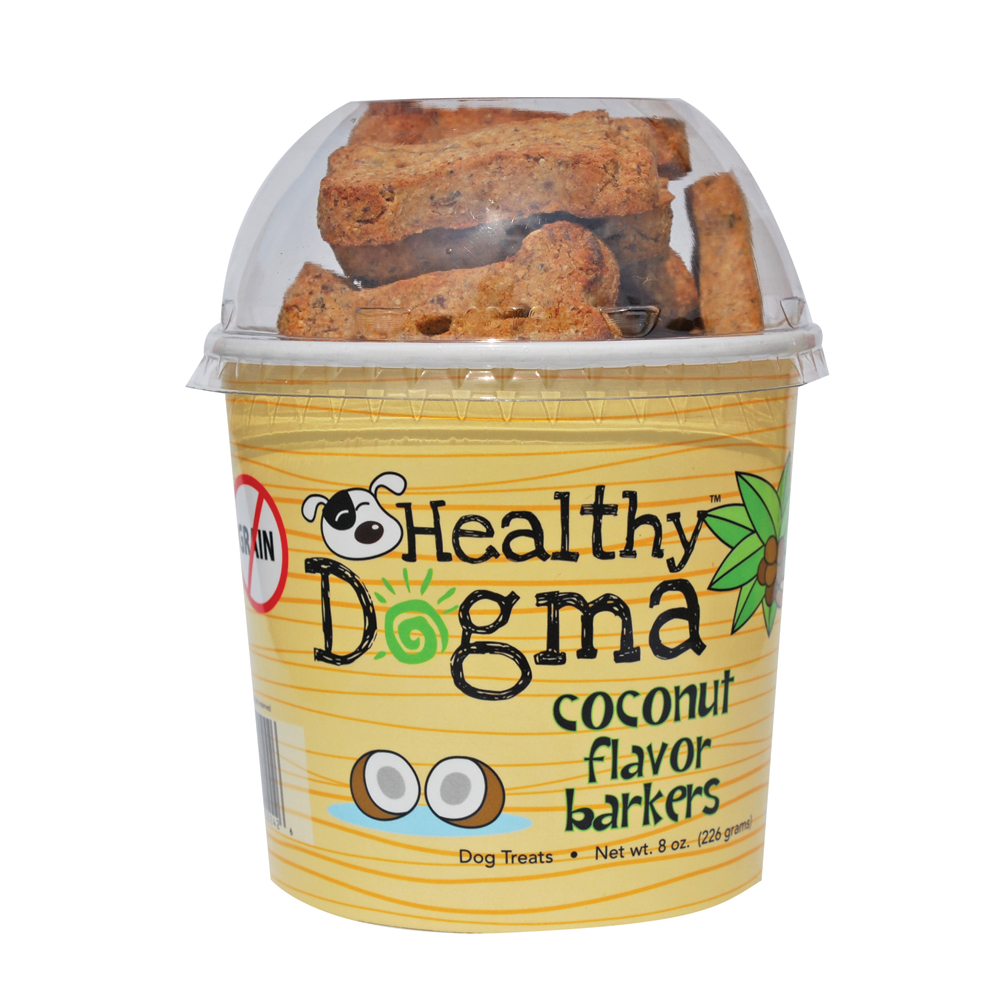 Healthy Dogma Coconut Treats 8 oz.