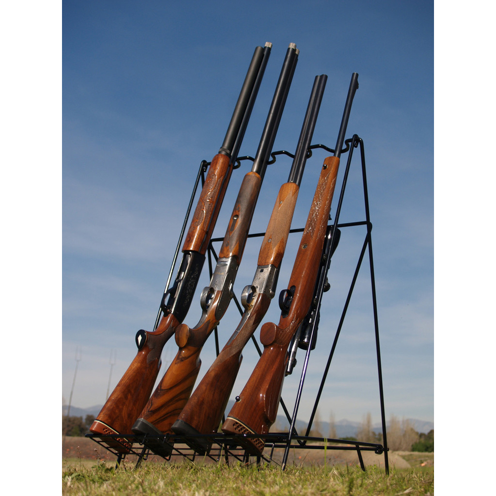 VERSATILE PORTABLE RIFLE & SHOTGUN RACK