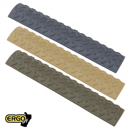 ERGO Diamond Plate FULL-LONG Rail Covers-3PK