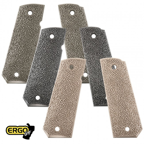 ERGO XTR 1911 Grip Tapered Bottom HARD RUBBER