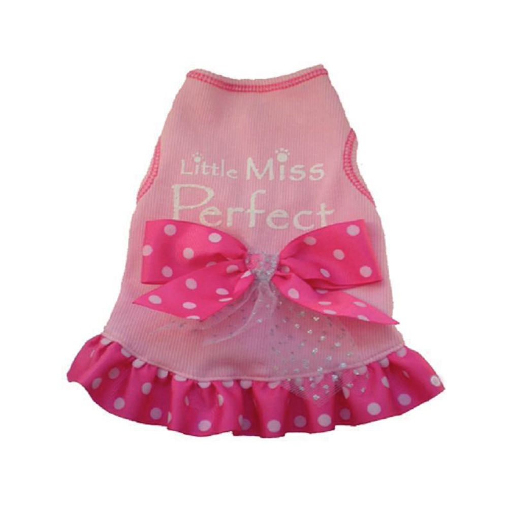 I See Spot - Dress -Little Miss Perfect