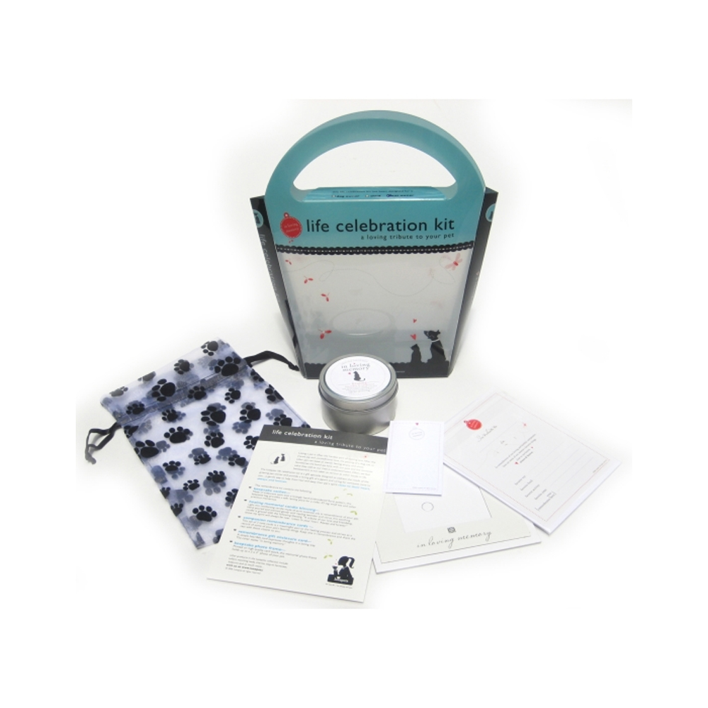 Luxepets - In Loving Memory Life Celebration Kits