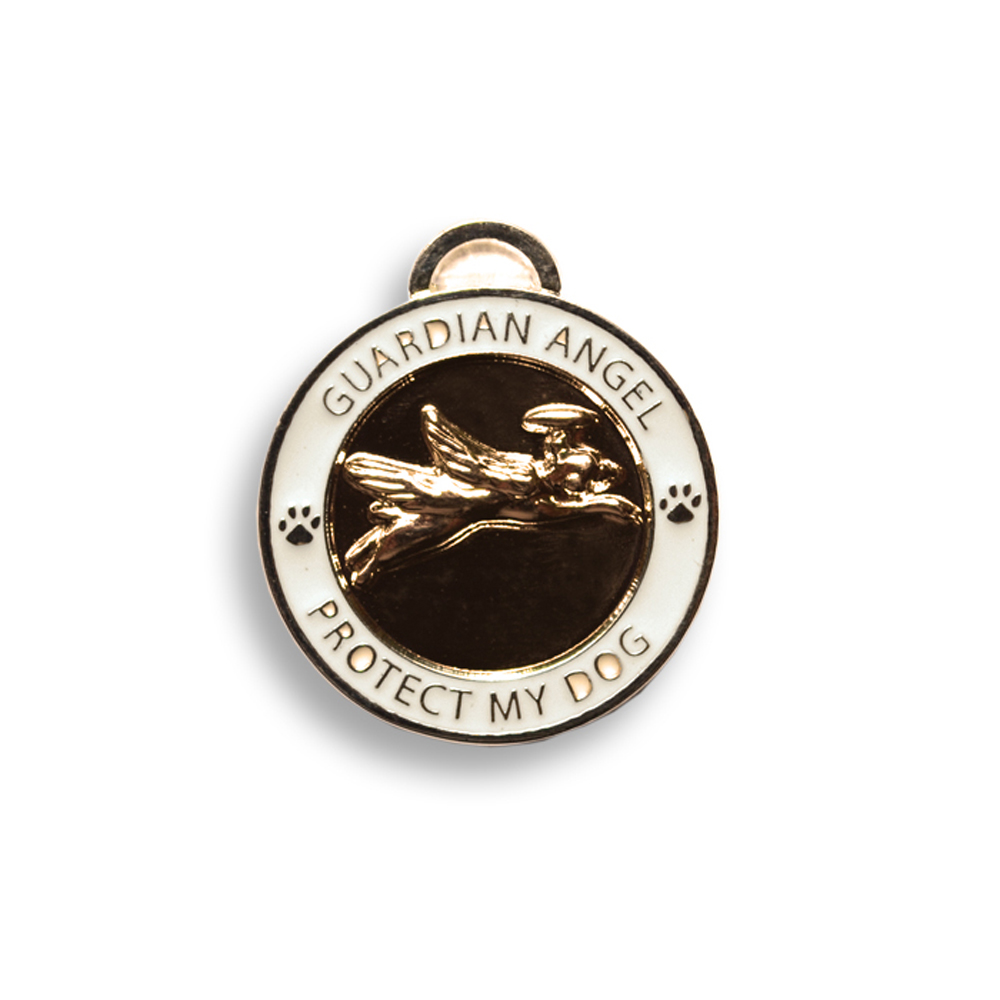 Luxepets - Guardian Angel Dog Charm