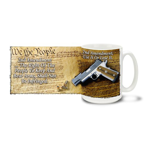Cuppa - Firearm Coffee 15 oz. Mugs