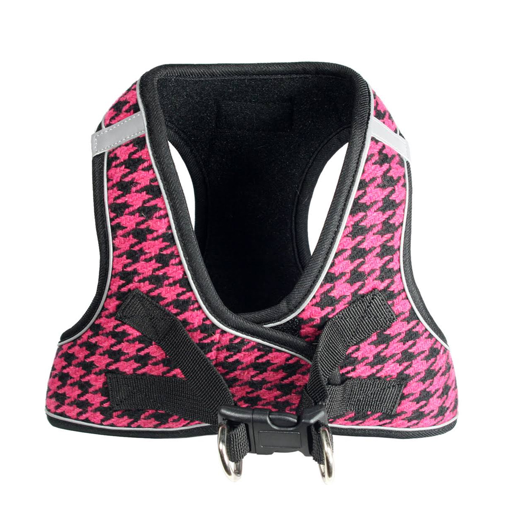 Hip Doggie EZ Reflective Houndstooth Harness