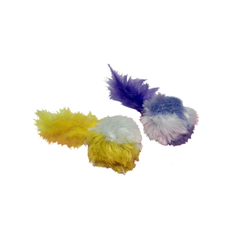 Multipet - Pom-Pom with Feather