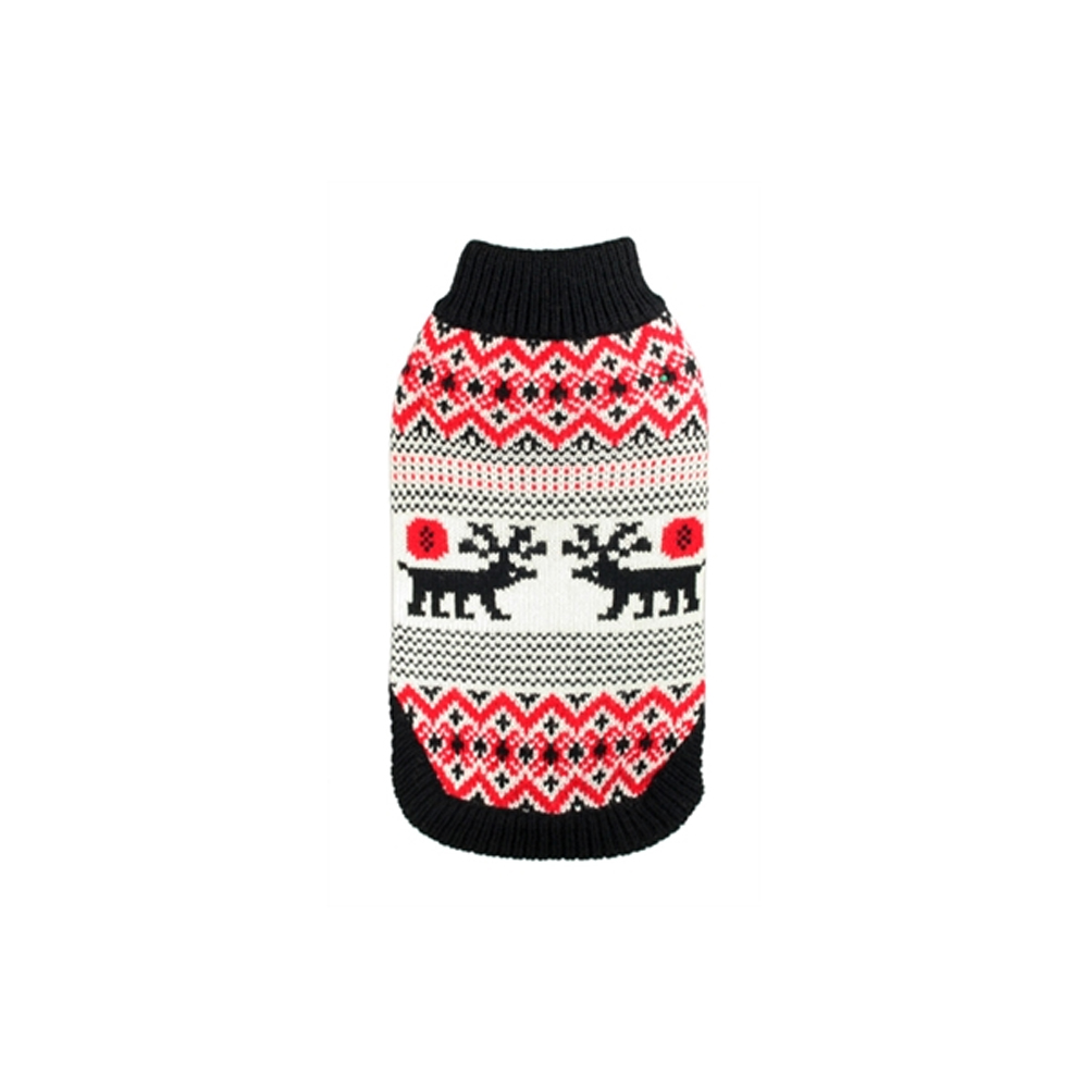 Hip Doggie Moose Lodge Sweater