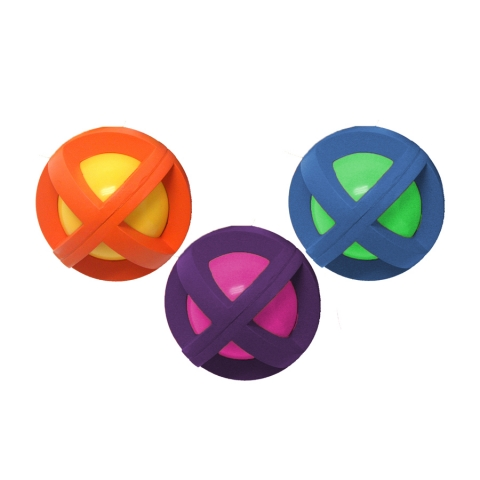 Multipet - BOINGO BALL Covered by Rubber Grippers