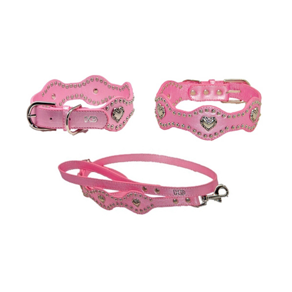Hip Doggie Heart Wave Collar & Lead