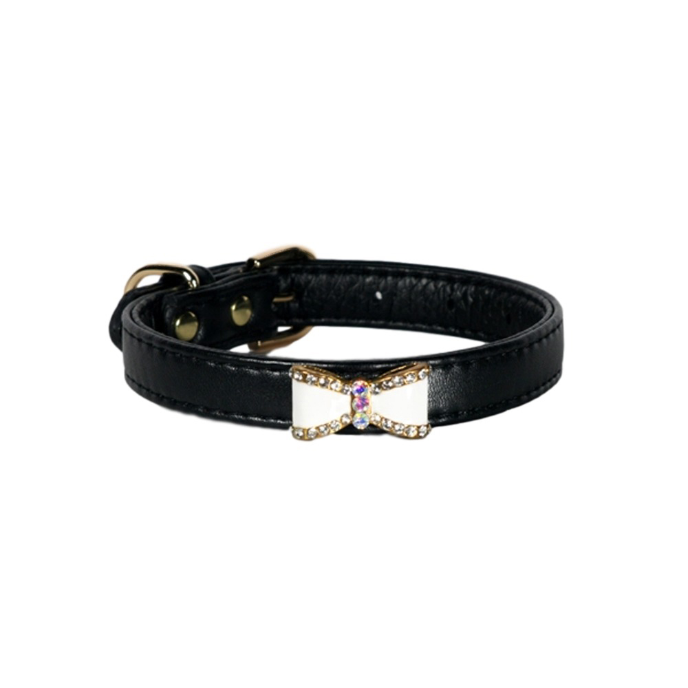 Hip Doggie Bow Collar & Lead