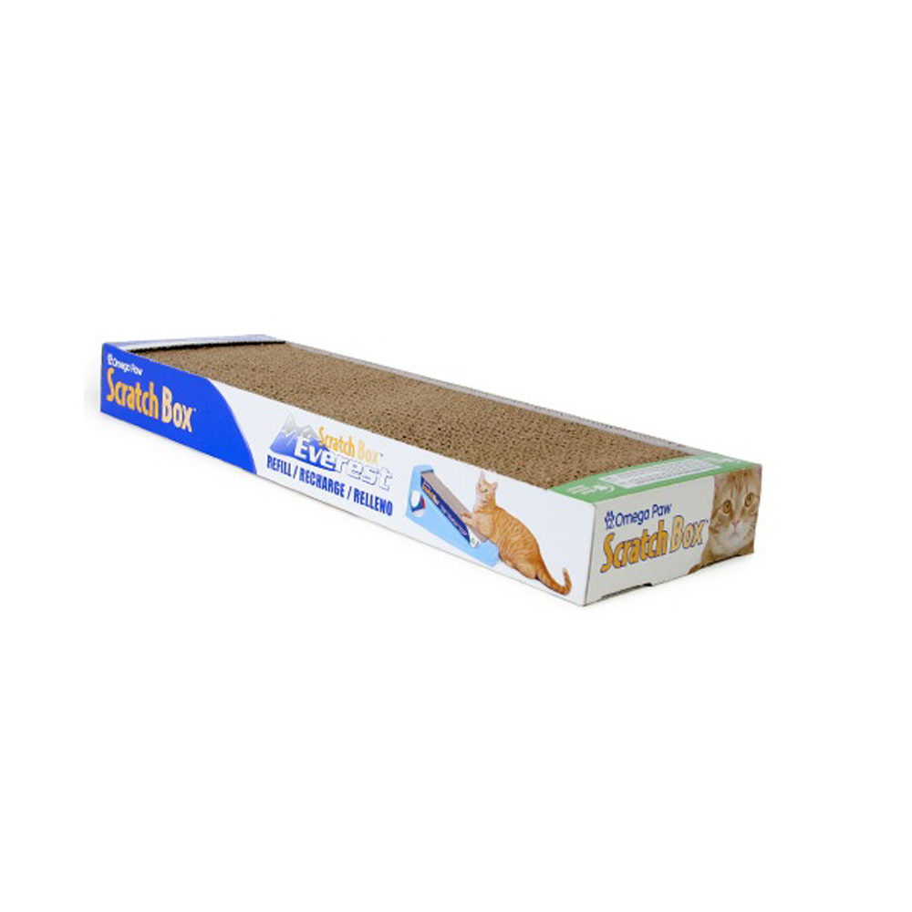 Omega Paw Scratch Box for Cats