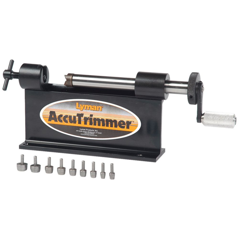 Lyman - Accutrimmer with 9 Pilot Multi-Pack