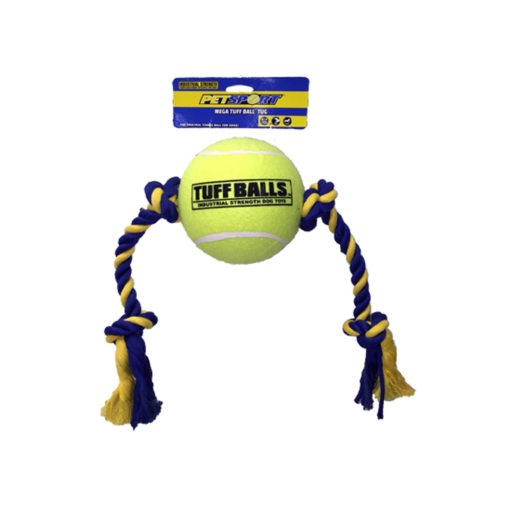 PetSport - Mega Tuff Ball Tug