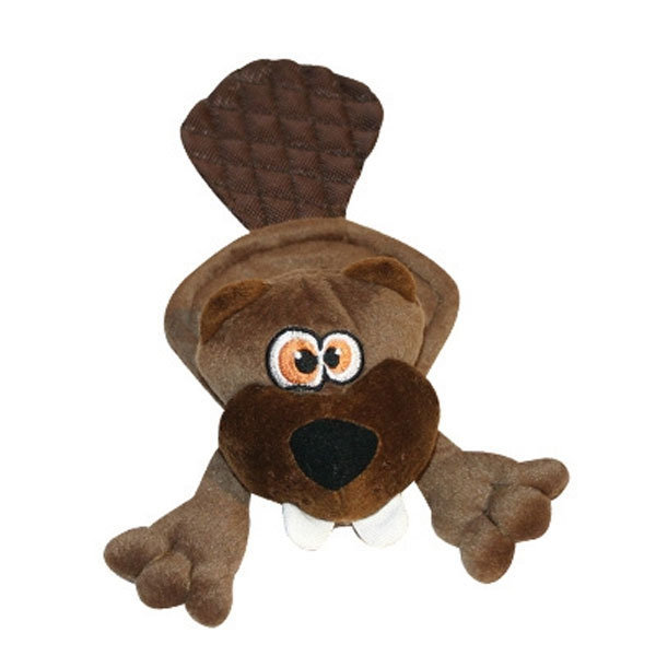 Hear Doggy™ Flatties Brown Beaver