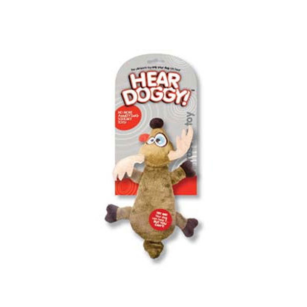 Hear Doggy™ Flatties Brown Deer