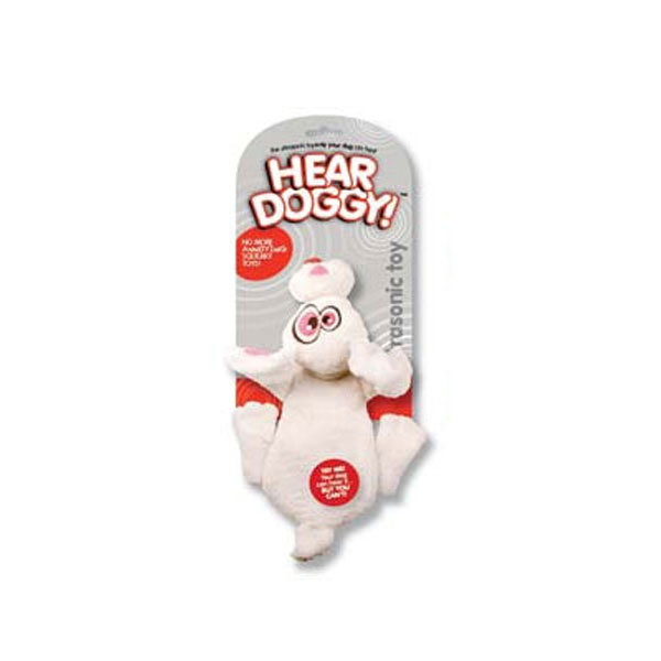 Hear Doggy™ Flatties White Rabbit