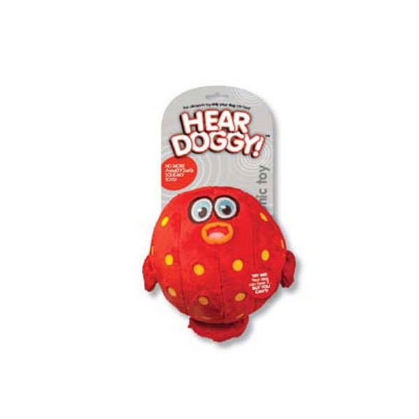 Hear Doggy™ Plush Dog Toy Blow Fish