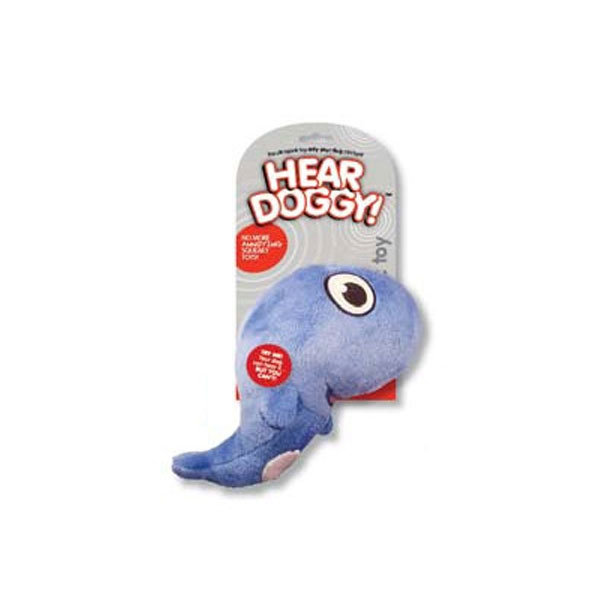 Hear Doggy™ Plush Dog Toy Whale
