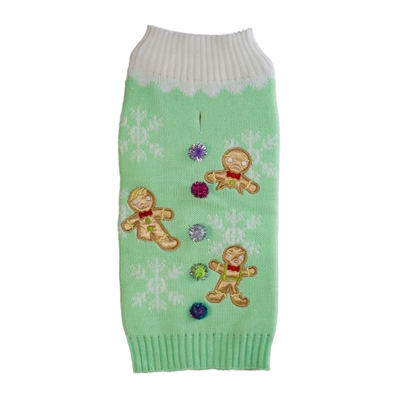 Holiday Sweaters Gingerbread Men
