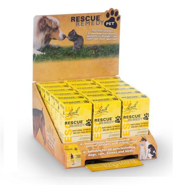 Rescue Remedy Pet, 18 piece 10 ml Display