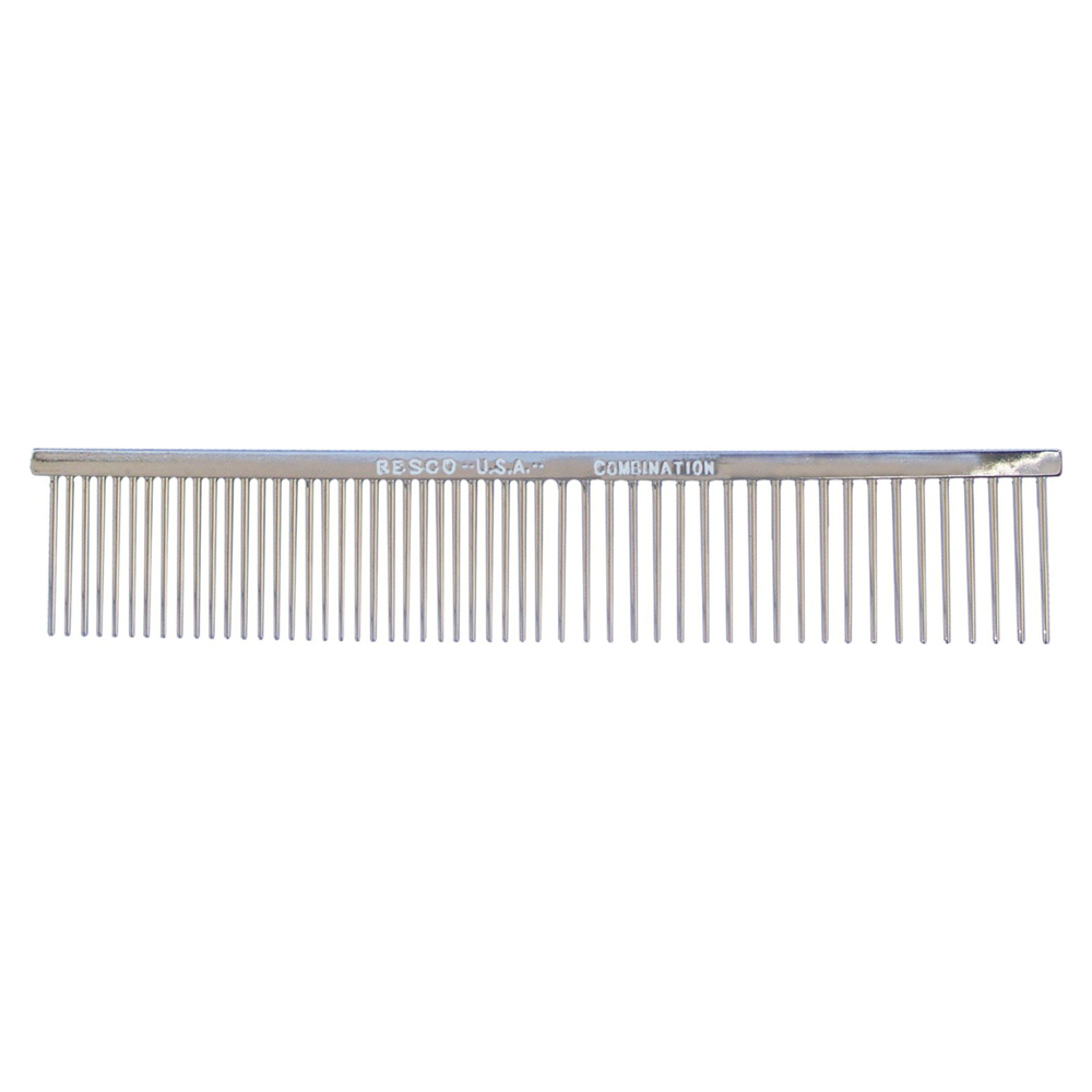 Resco Combo Comb - 1 in Tooth MedCoarse